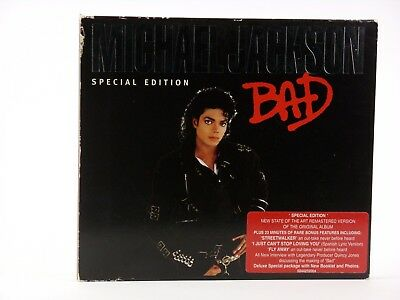 Michael Jackson Bad Special Edition Musik CD Worldwide Shipping