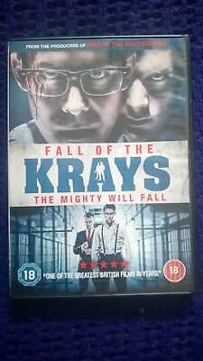 Fall of the Krays DVD Disc Perfect Watched Once Bloody Violent thriller