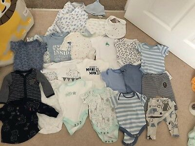 Baby Boy Clothes Bundle 0-3 Months Next Mothercare Boots