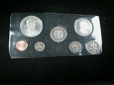 Jamaica 1971 Proof Set 7pc with Silver