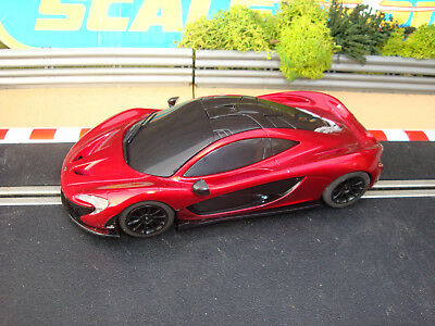 COMPLETE SCALEXTRIC RED McLAREN P1 - LOADS MORE CARS FOR SALE