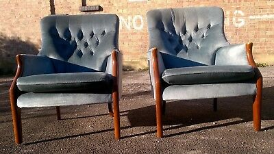 Vintage Armchairs Parker Knoll