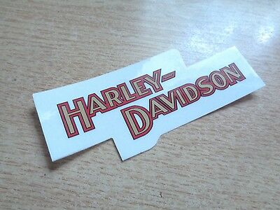 Harley Davidson Motorcycle Window Decal Factory Dealership Sticker Emblem Badge