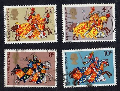 Great Britain: Medieval; complete fine used set