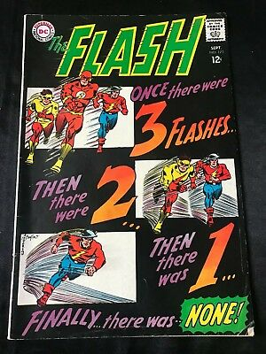 The Flash #173 Comic Book (Dc,1967) Silver Age +