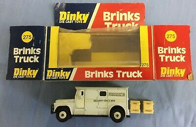 Dinky Toy's 275.brinks Armoured Truck And Original Box .good Condition