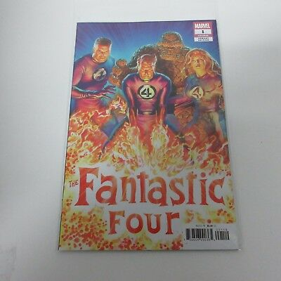 Marvel Comics Fantastic Four #1 Alex Ross Incentive Variant NEW