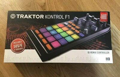 Traktor Kontrol F1 DJ controller from Native Instruments - NEW BOXED