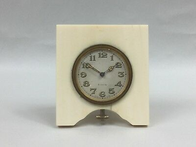 Early 20th C. Travelling Clock - 8 Day Swiss Movement - For Restoration