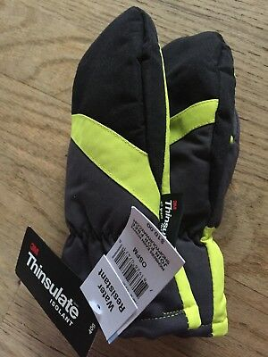 Thinsulate Toddler Snow Gloves Mittens Water Resistant