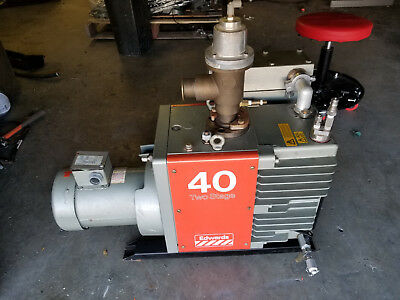 EDWARDS E2M40 ROTARY Vane vacuum pump EH250 mechanical Roots