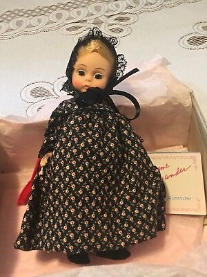 """MIB-HTF-8"""" DOLL, Mother Hubbard  #439 by Madame Alexander-Excellent!! W/PAPERWK"""
