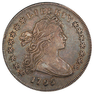 1795 $1 Centered Dr Bust B-15 R.2 Pcgs Xf45 Cac
