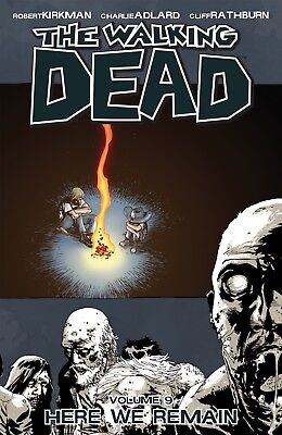 The Walking Dead Volume 9 Here We Remain Graphic Novel Comic new