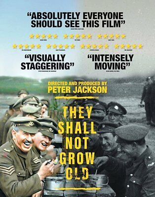 THEY SHALL NOT GROW OLD 2018 DVD Ships from US Seller