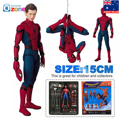 Mafex NO 47 Spider-Man Homecoming Kids Action Figure Toy Gift