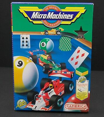 Micro Machines NES box with poster  beautiful condition