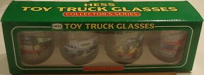 New Hess Truck Special Edition Release Employee Glasses Set-(85Th/2018 Hess)