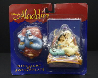 Disney's Aladdin Night Light and Switch Plate MOC  Genie Jasmine Aladdin