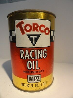 TORCO RACING OIL Quart Fiber Can Full Bin 87-3