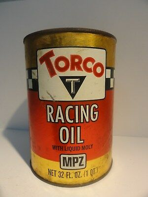 TORCO RACING OIL Quart Fiber Can Full Bin 87-4