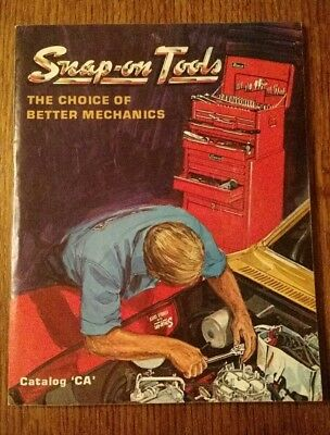 Vintage 1971 Snap On Tools Catalog 212 Pages