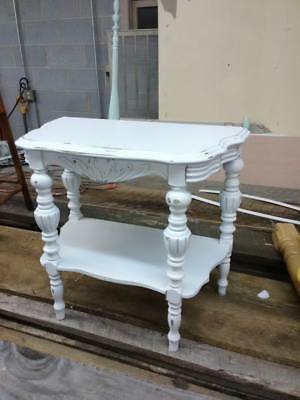 Vintage Antique old shabby chic victorian side end accent table