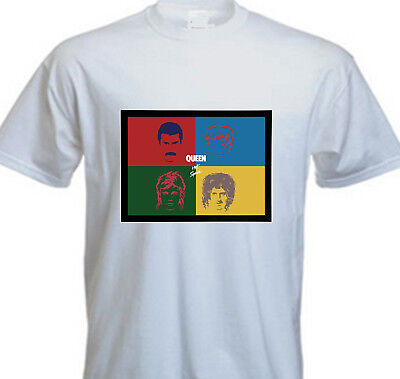 Queen Freddie Mercury Band Classic Hot Space T SHIRT - FOREVER QUEEN