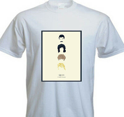 Queen Freddie Mercury Band Classic It's Kind of Magic T SHIRT - FOREVER QUEEN