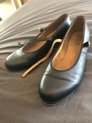 Bloch Ladies Tap Shoes - Black Size 9.5 (Small Make - Best Suited To 8.5-9)
