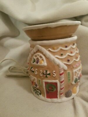 Yankee Candle Gingerbread Electric Wax Warmer Melts Christmas retired