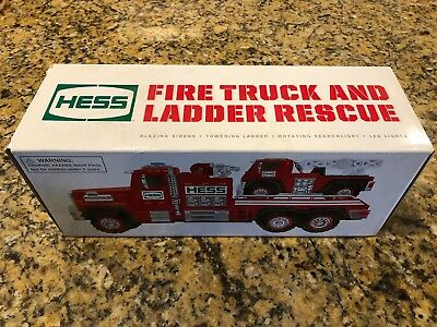 2015 HESS Fire Truck and Ladder Rescue NEW