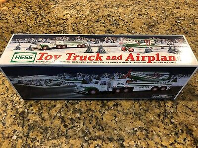 2002 Hess Toy Truck And Airplane NEW