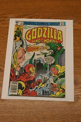 Marvel Comic – Godzilla King of the Monsters #23  1979