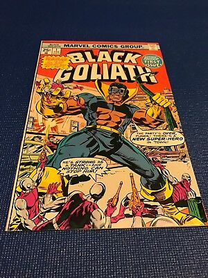 Black Goliath #1 Very sharp copy NM 9.0 maybe better