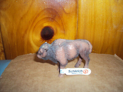 Schleich Bison Calf #14350 Retired 2004 Buffalo