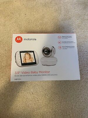 Motorola Baby Monitor with Night Vision Digital Video MBP33XL