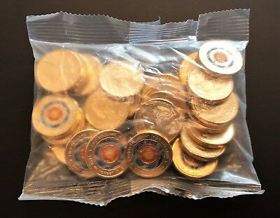 1 x SEALED MINT Bag of 25 x UNC $2 coins 2018 * ETERNAL FLAME * Lest We Forget