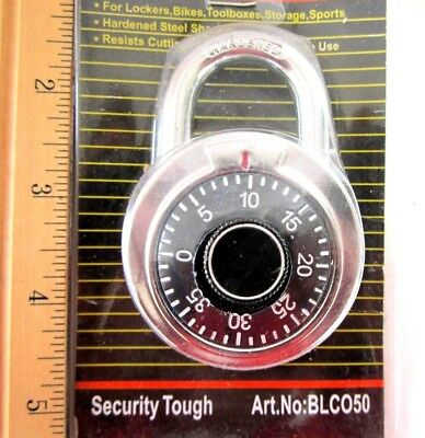 "Heavy Duty 2"" Combination Padlock Lock For Security Guys Without Key, SAVE SALE!"