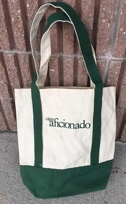 Cigar Aficionado Canvas Tote Bag-Overstock-Brand New-Heavy Duty!