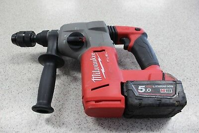 Milwaukee M18CH-0 18V Cordless Brushless 26mm SDS Plus Rotary Hammer With 5.0ah