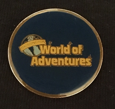Vintage Chessington World Of Adventures  Theme Park Badge - Pin Brooch  **rare**