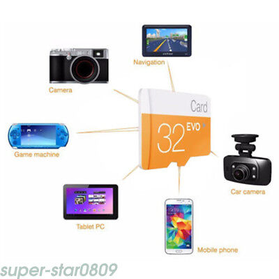 32GB Hot Micro SD Card Class 10 TF Flash Memory SDHC For Phone Tablet Camera Hot