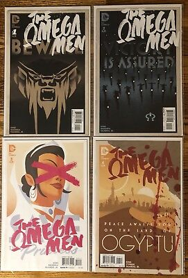 Omega Men #1-12 (Full Run)  Tom King!  Barnaby Bagenda!  Green Lantern!