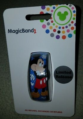 NEW Walt Disney World 2018 Mickey Mouse Limited Release Magic Band 2 LINKABLE