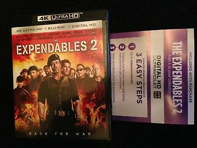 THE EXPENDABLES 2  (2012) 4K HD Digital Code Verified Unredeemed
