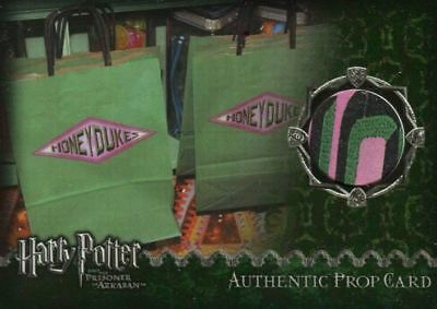 Harry Potter and the Prisoner of Azkaban Honeydukes Bag Prop Card HP #113/434