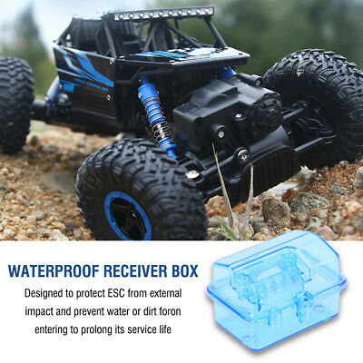 Waterproof Receiver Box P2047 for 1/10 RC Short Course Slash Traxxas Huanqi727