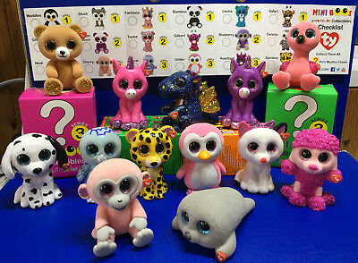 W F L Ty Mini Boos Paw Patrouille Figurines à Collectionner 5 cm Glubschis