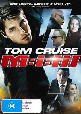Mission Impossible 3 M:III Tom Cruise Region 4 DVD Low P&H